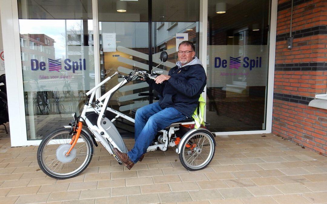Duofietsen in Reeuwijk